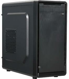 Gaming Computer Case Hard PC Shell Desktop ATX Mini Tower...