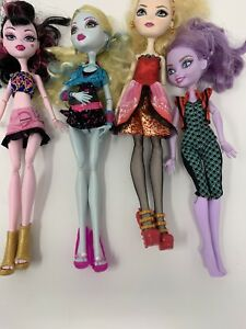 Mattel-Monster-High-Doll-And-Ever-After-Doll-Lot-Of-4-OOAK-RARE