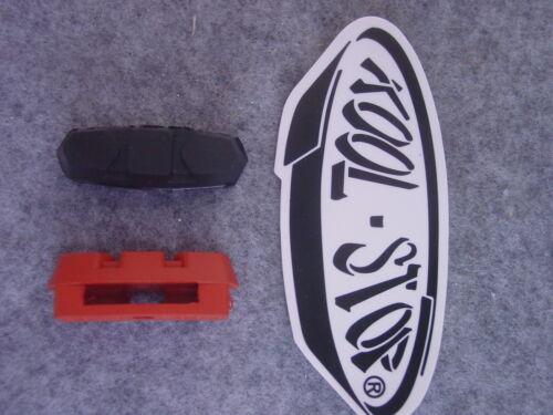 Bremsbeläge für Shimano Adamas Koolstop 2 Paar= 4Stück  schwarz oder rot