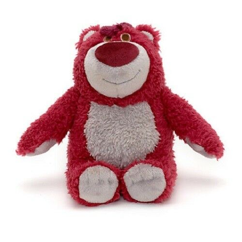 Official Disney StoreToy Story Lotso Strawberry Scented Bean Bag Soft Plush