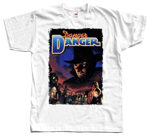 Danger Danger Album Cover T shirt blanc 100/% coton Taille S-5XL
