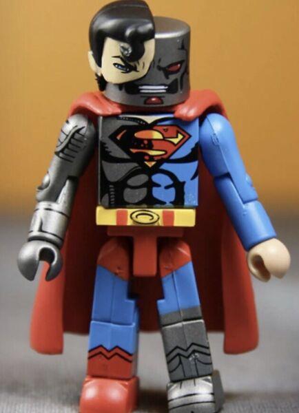 Dc Minimates Serie 4 Cyborg Superman Long Performance Life