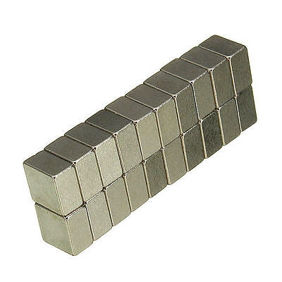 20pcs N35 5x5x3mm Strong Block Magnets Rare Earth Neodymium