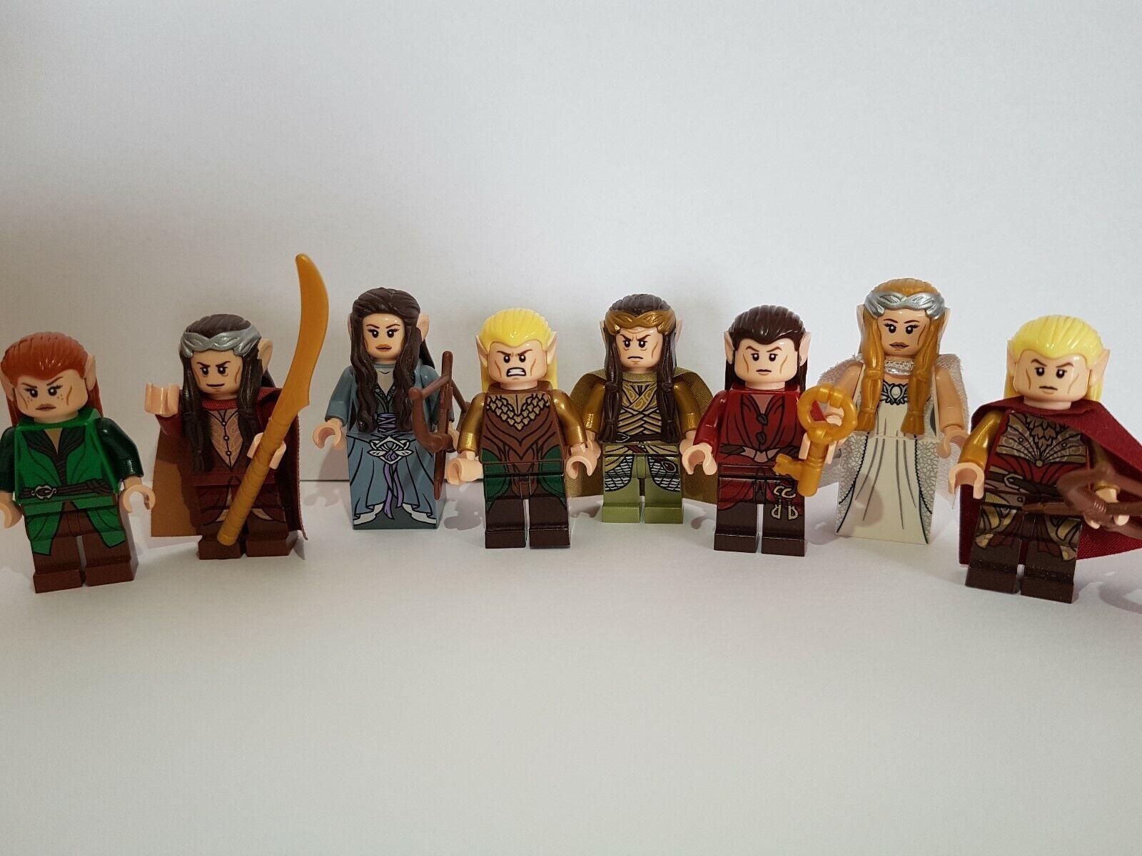 LEGO® Herr der Ringe Hobbit Lord of Rings Elben König Thranduil Elrond Haldir