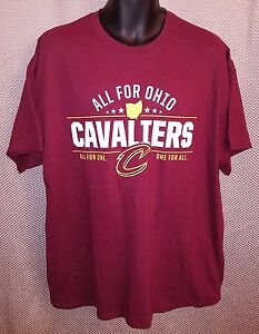 008ae2df7c5 Cleveland Cavaliers Cavs All For Ohio Promo T-Shirt NWOT - Mens XL ...