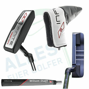 Wilson-Infinite-Counter-Balanced-Blade-Putter-034-Windy-City-034-35-034-neu-OVP-Rechnung