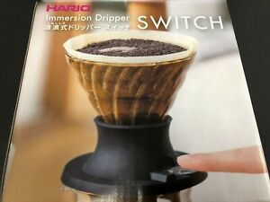 Hario-Coffee-Immersion-Dripper-Switch-1-4-Cups-SSD-200-B-from-JAPAN