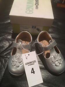 New Genuine Kids By Oshkosh Toddler Girls Joli Ballet Flats Crown Black Size 7