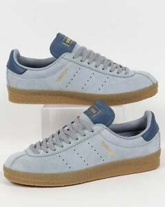 Image is loading Adidas Originals Adidas Topanga Clean Trainers in Light