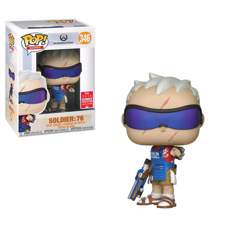 Overwatch Funko POP  Summer Convention Exclusive - Soldier  76