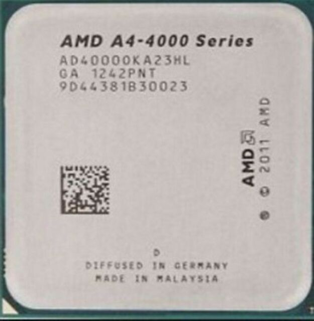 AMD APU  A4-Series  A4-4000 3.0GHz Socket FM2