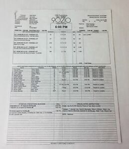 2008-CBS-90210-set-used-CALL-SHEET-Season-1-Episode-3