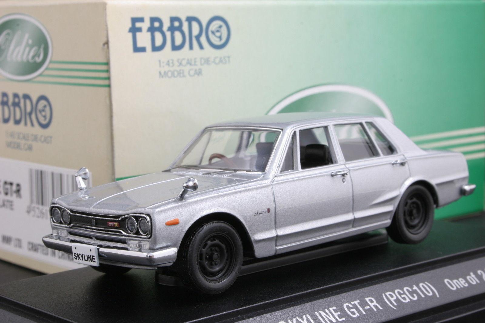 Ebbro 43317 1 43 Scale Nissan Nissan Nissan Skyline GT-R PGC10 (Late Version) Die Cast Model 83810c