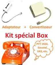 Convertisseur d'impulsions téléphone à cadran rotatif pour BOX Socotel S63 U43