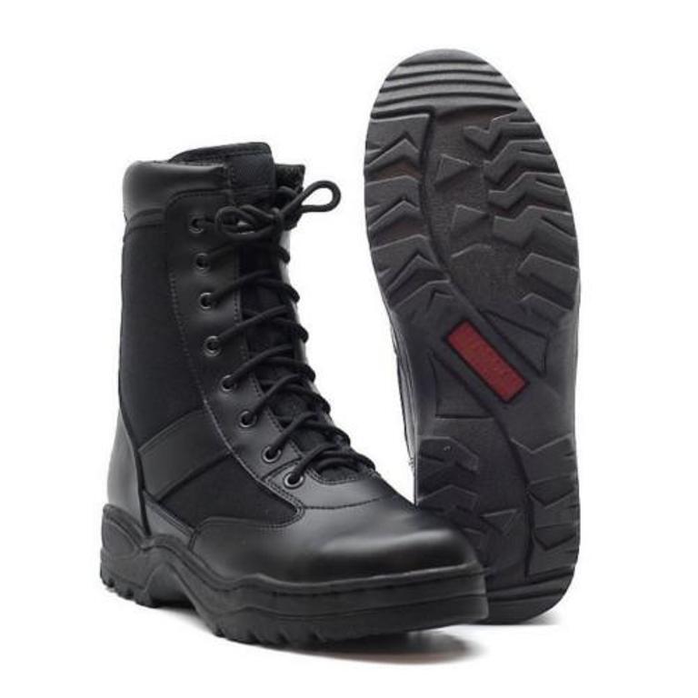 Neu Army Stiefel Arbeitsschuhe Größe 37 - 47 Kampfstiefel outdoor Boots black