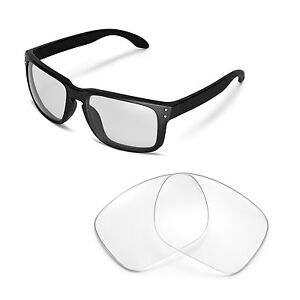 1719355b193d2 Image is loading New-Walleva-Clear-Replacement-Lenses-For-Oakley-Holbrook-