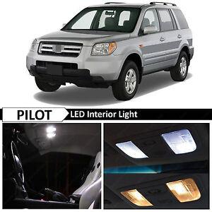18x White Interior Led Lights Package Kit 2006 2008 Honda Pilot Tool Ebay
