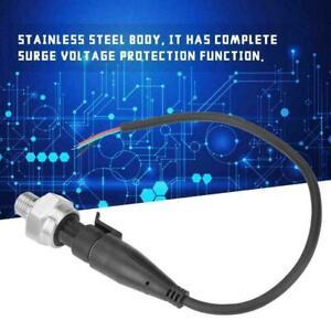 "1/4"" Stainless Steel Pressure Transducer Sensor 5V 0-500PSI for Water Gas Oil"