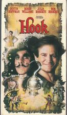 Hook VHS, 1992 Robin Williams as Peter Pan Julia Roberts Dustin Hoffman