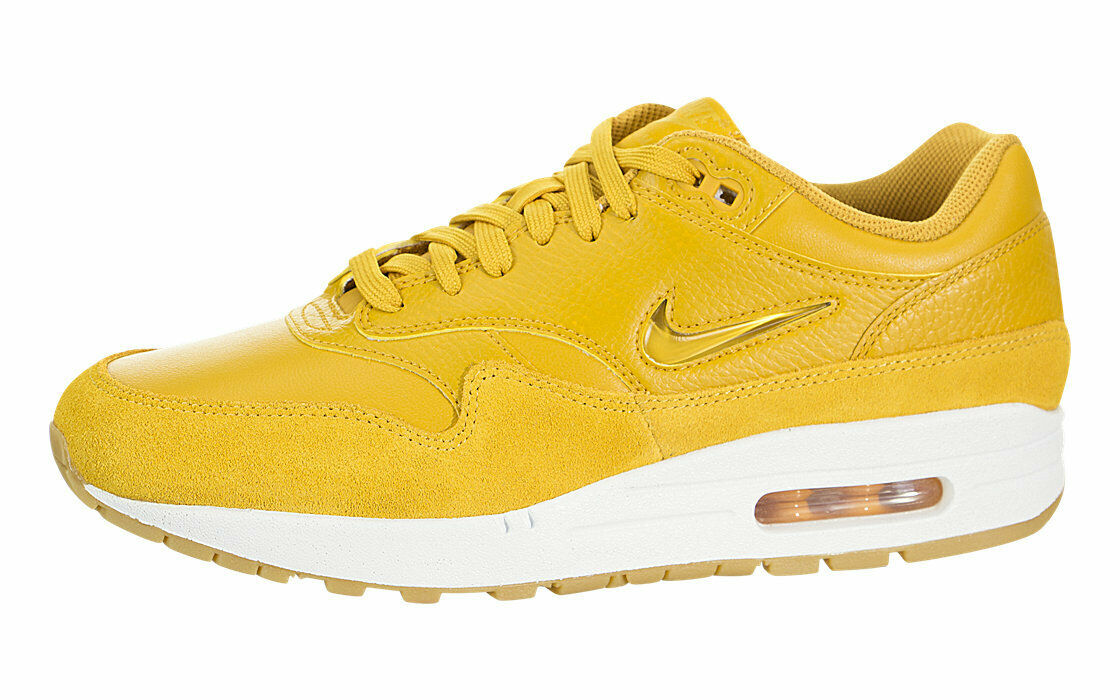Authentic NIKE WOMEN'S AIR MAX 1 PREMIUM SC JEWEL SHOES AA0512-700 Wmns SZ 8