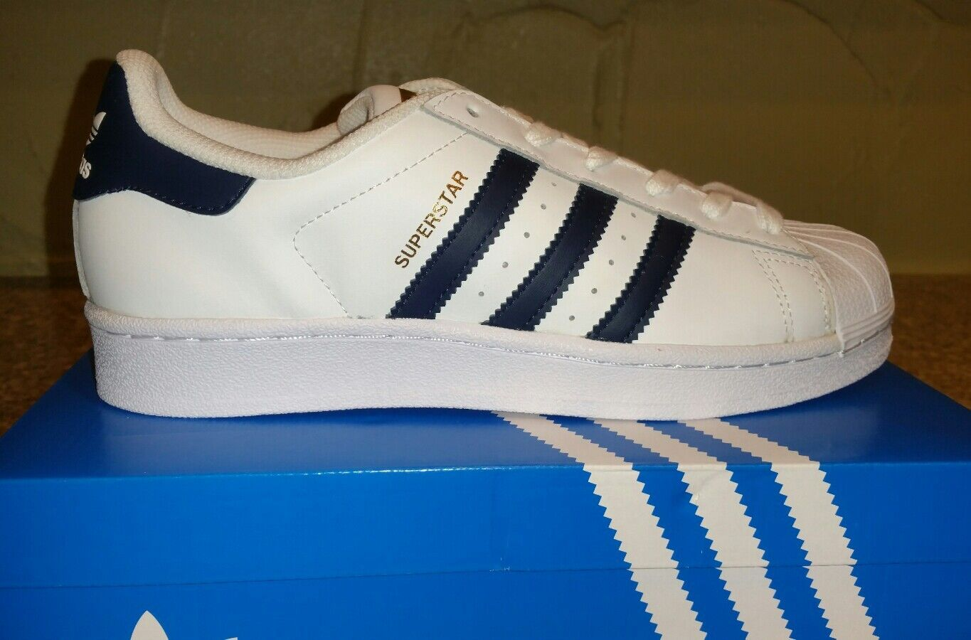 NEW ADIDAS SNEAKERS MEN'S ORIGINALS SUPERSTAR FOUNDATION CASUAL SNEAKERS ADIDAS SHOES SIZE 6 24f6f7