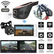 WiFi Auto Kamera 1080P HD DVR Dashcam Versteckte Kamera Parkmonitor G-Sensor KFZ