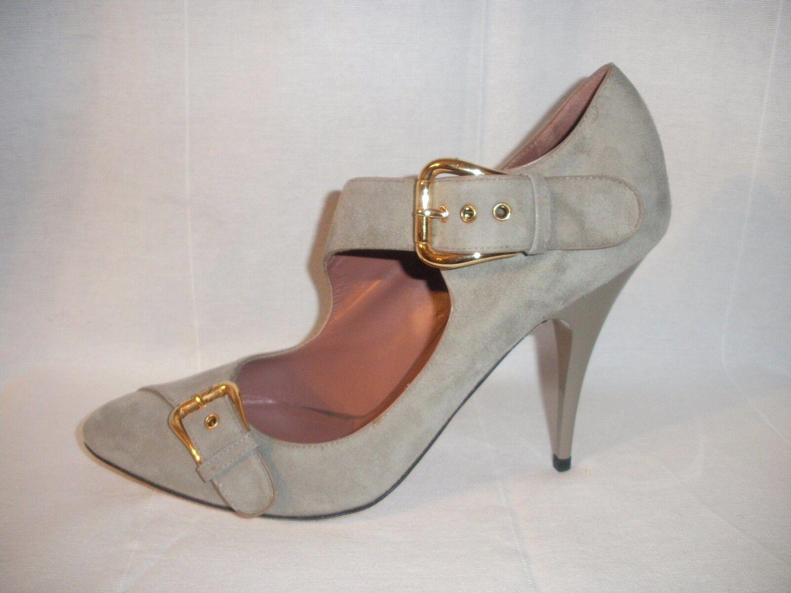 GIUSEPPE ZANOTTI Pumps Damen Schuhe Echt Leder 100% Original Lederschuhe Gr.37