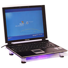 USB 828 1 18cm Big-Fan with Blue LED Cooling Cooler Pad Stand for Laptop 15.4""
