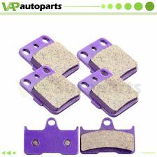 12 Brake Pads For Yamaha Grizzly YFM 660 ATV 2002 2003 2004 2005 2006 2007 2008