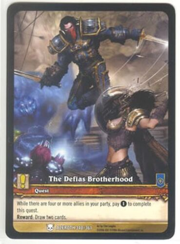 WoW EXTENDED ART PROMO The Defias Brotherhood #340//361
