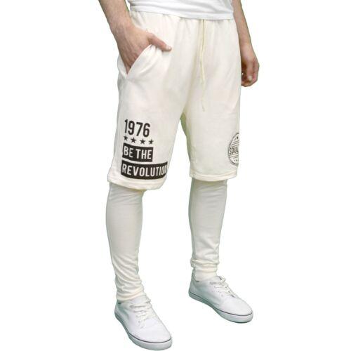One-Piece Soulstar Mens Designer Fashion Jogging Bottom // Shorts Combo BNWT