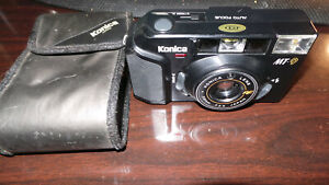 Konica Compact MT-9 RAPIDE 35 mm Premier objectif appareil photo argentique