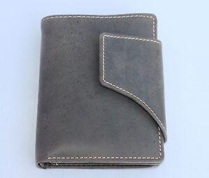 Geldboerse-Naturleder-Brieftasche-Geldbeutel-Portmonai-Kombiboerse-Geldtasche