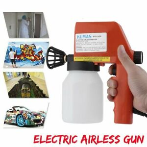 New-Electric-Airless-Air-Less-Paint-Gun-Sprayer-House-Fence-Room-Painting-hr