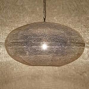 orientalische marokkanische lampe leuchte laterne h ngeleuchte gizeh d45 silber ebay. Black Bedroom Furniture Sets. Home Design Ideas