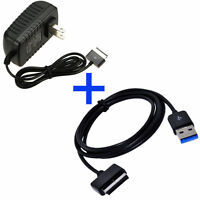 Home Wall Charger Power Adapter For Asus Eee Pad Transformer Tf101rf-a1 Tablet
