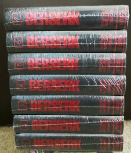Berserk Deluxe Edition English Manga Vol 1-7 Hardcover **New Sealed**