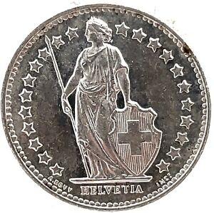 Switzerland-1-2-Franc-1952-B-Bern-Silver-Coin-KM-23