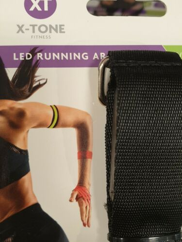 X TONE LED Safety Reflective Belt Strap Arm Band For Cycling Walking Running