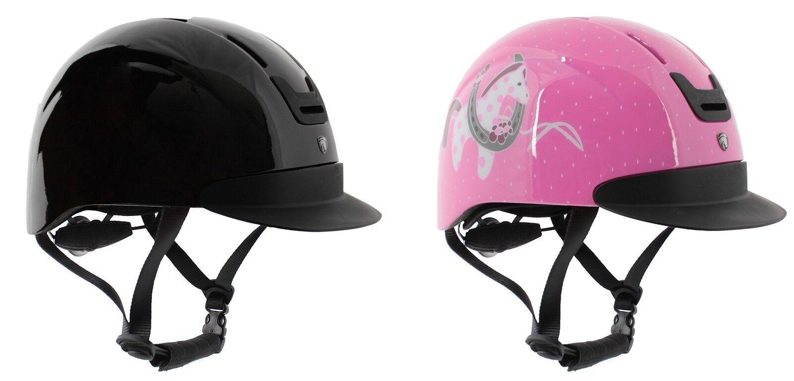 ADJUSTABLE Horse Riding Helmet Hat 48-57cm ALL COLOURS VG1 STANDARD