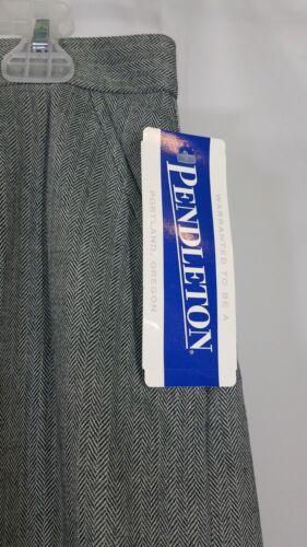16 NWT Gonna grigia gonna misura a donna con Pendleton dritta matita in 98 00 misto lana wOOHq