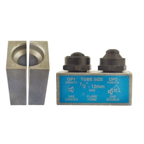 """1//2/"""" SAE Brake Pipe Flaring Flare Tool Punch And Die Single Double FL06"""
