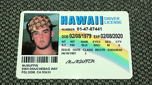 Mclovin Fake Customize Movie Superbad Your Joke Ebay Id with Image Information