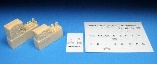 Barracuda Cast 1//32 scale Lancaster WWII Radio Resin Upgrade Set BR32411