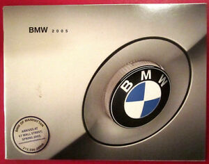 2005-BMW-Brochure-M5-745i-760Li-645Ci-525i-530i-545i-M3-330i-325i-Catalog