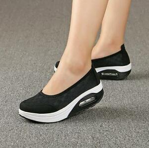 Outdoor-Womens-Platform-Breathable-Mesh-Sneakers-Comfort-Nurse-Shoes-Size-4-10-C