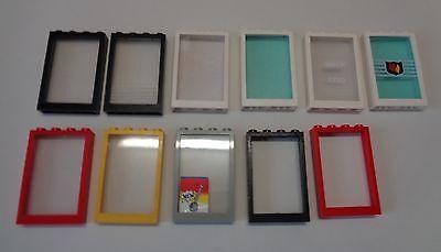 Lego ® Cadre de Fenêtre Maison 1X4X3 Frame Windows Choose Color 60594