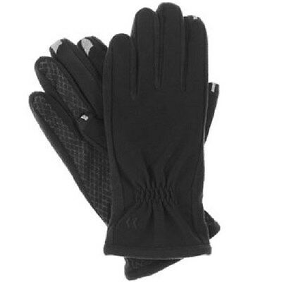 ISOTONER Women's smarTouch Texting Gloves Black NWT- XL