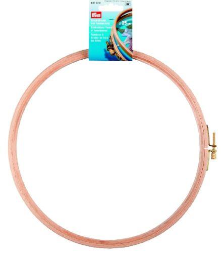 Prym Stick anillo Stick marco reservar madera con tornillo 25,0 cm
