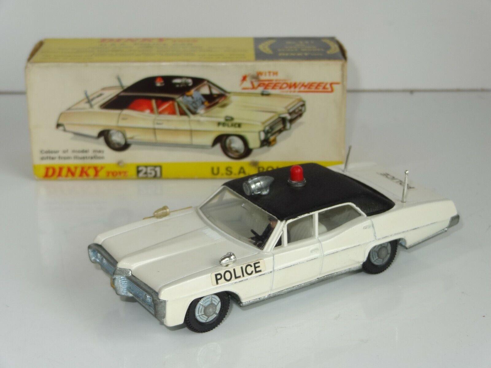 DINKY 251 Pontiac PARISIENNE USA auto della polizia 239